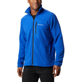 Columbia Fast Trek II Giacca in pile con zip intera Uomo, azul/black